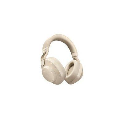 image Jabra Écouteurs Circum-auriculaires Elite 85h - Écouteurs Sans Fil à Réduction de Bruit Active- Beige doré