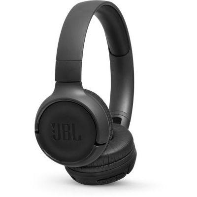 image JBL Tune500 - Casque supra-auriculaire avec fil - Léger et pliable - Écouteurs confortables - Avec commande mains libres - Microphone intégré - Noir