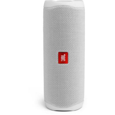 image JBL Flip 5 – Enceinte Bluetooth portable robuste et étanche – Blanc