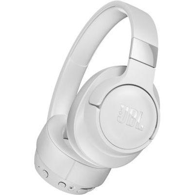 image JBL Tune750BTNC – Casque circum-auriculaire sans fil à réduction de bruit active – Écouteurs Bluetooth compatibles avec Siri, Google Now et Alexa – Autonomie jusqu'à 15 heures – Blanc