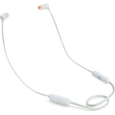 image JBL T110BT – Écouteurs Intra-Auriculaires Légers Sans Fil – Bluetooth – Avec Commande pour Appels – Autonomie Jusqu'à 6 hrs – Bluetooth, Blanc