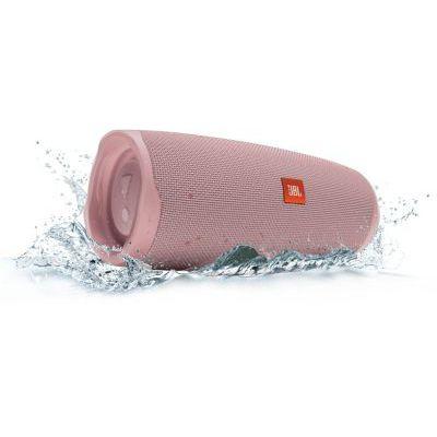 image JBL Charge 4 – Enceinte Bluetooth portable avec USB – Robuste et étanche : pour piscine et plage – Son puissant – Autonomie 20 hrs – Rose
