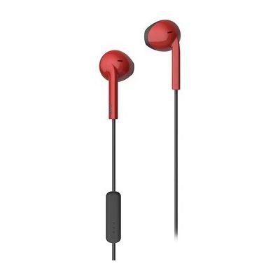 image JVC HA-F19M-RB-E Earbuds Écouteurs avec Fonction Casque Rouge x Noir