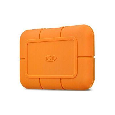 image LaCie Rugged SSD 500Go, Disque SSD externe, USB-C USB 3.0 Thunderbolt 3, Résistance extrême à l'eau et aux chutes de trois mètres, Mac, PC (STHR500800)