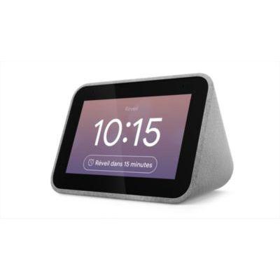image Enceinte intelligente Lenovo Réveil connecté Smart Clock