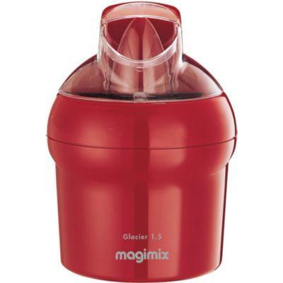 image Magimix Sorbetière avec récipient pour gélatine 15W 1,5l Rouge