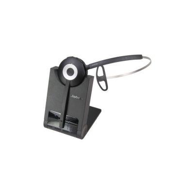 image Jabra Pro 930 MS Casque Mono DECT sans Fil - Certifié Skype for Business, Antibruit et Autonomie d'une Journée - Utilisation avec Logiciels Softphones en Europe - Prise UE