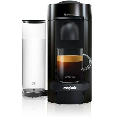 image Cafetière à dosette ou capsule Magimix Vertuo Noir 11399