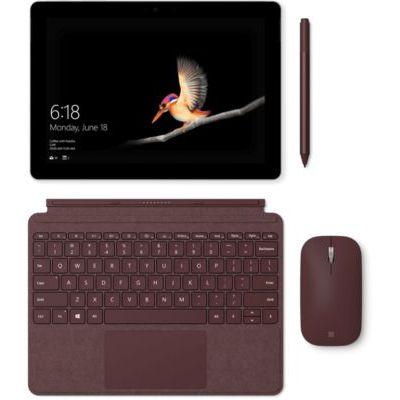 image Microsoft Type Cover Signature Surface Go Bordeaux (Alcantara) AZERTY