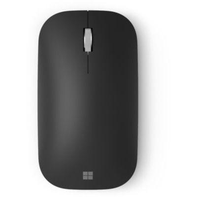 image Microsoft – Modern Mobile Mouse – Souris Bluetooth pour PC, ordinateurs portables, tablettes compatible Windows, macOS, Chrome OS (fine, légère, transportable) – Noire (KTF-00002)