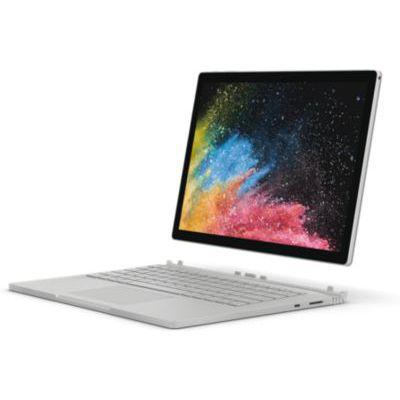 "image Microsoft Surface Book 2, 13,5"" Argent (Core i7, 16Go de RAM, 1To, Windows 10 Pro) - Calvier AZERTY français"