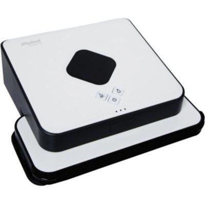 image iRobot Braava 390t, robot laveur de sols pour plusieurs pièces et larges espaces, silencieux