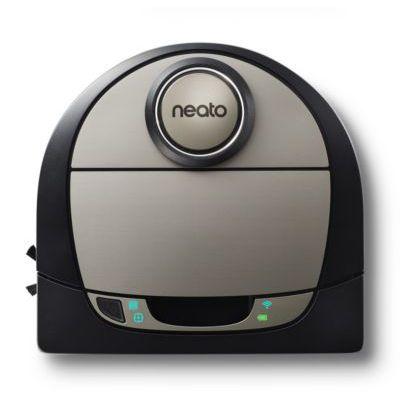 image Neato Robotics D7 Aspirateur Robot Intelligent - Compatible avec Alexa - Robot aspirateur avec station de charge, Wi-Fi & App