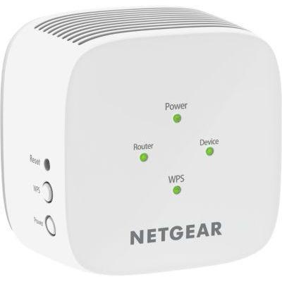 image NETGEAR EX6110-100FRS Répéteur WIFI puissant sans fil AC1200, wifi extender , wifi booster, Améliore Votre Wifi - Installation Rapide - Bouton Point d'Accès Compatible avec toutes les Box Internet