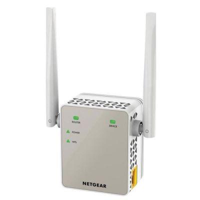 image NETGEAR Répéteur WiFi (EX6120), Amplificateur WiFi AC1200, WiFi Booster, repeteur WiFi puissant , Supprimez les Zones Mortes, jusqu'à 120m² et 20 Appareils, Boost le Signal Jusqu'à 1200 Mbps