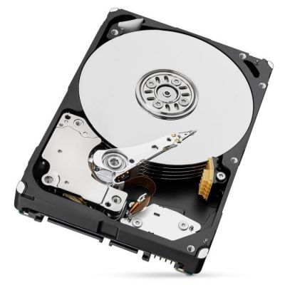 image Seagate BarraCuda 5 To, Disque dur interne HDD – 2,5 pouces SATA 6 Gbit/s 5 400 tr/min, 128 Mo de mémoire cache, pour PC de bureau (ST5000LM000)