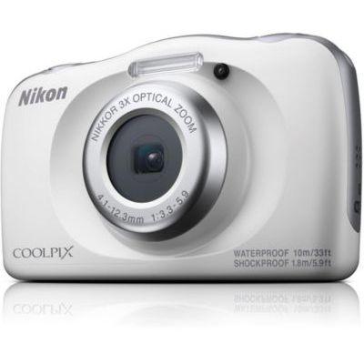 """image Nikon COOLPIX W150 Kit Appareil-photo compact 13,2 MP CMOS 4160 x 3120 pixels 1/3.1"""" Blanc - Appareils photos numériques (13,2 MP, 4160 x 3120 pixels, CMOS, 3x, Full HD, Blanc)"""