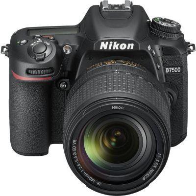image Nikon D7500 - Reflex numérique + AF S DX NIKKOR 18-140 VR