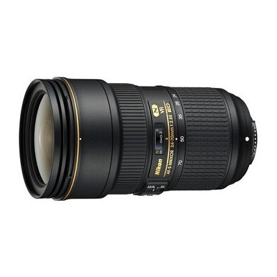 image produit Objectif zoom Nikon AF-S NIKKOR 24-70MM F/2.8E ED VR