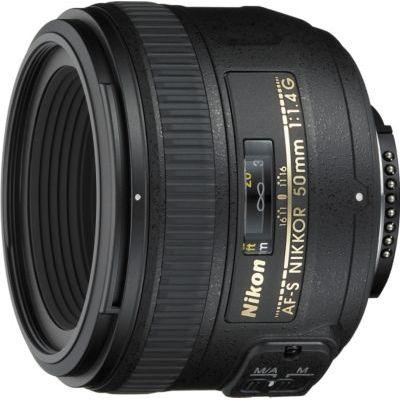 image Objectif à Focale fixe Nikon AF-S NIKKOR 50mm f/1.4G