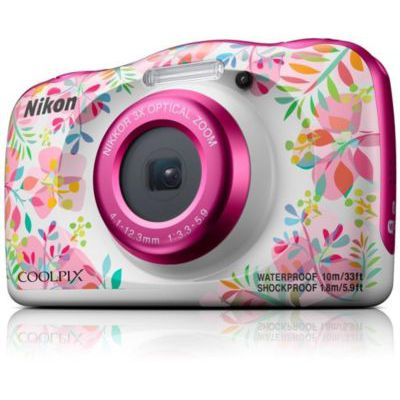 """image Nikon COOLPIX W150 Kit Appareil-Photo Compact 13,2 MP CMOS 4160 x 3120 Pixels 1/3.1"""" Multicolore - Appareils Photos numériques (13,2 MP, 4160 x 3120 Pixels, CMOS, 3X, Full HD, Multicolore)"""