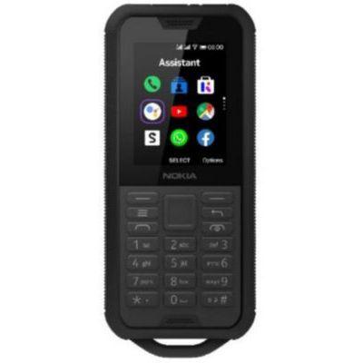 image Nokia 800 Tough - Portable débloqué 4G - (2,4 pouces - 4Go stockage - Double Sim - KaiOS V2.5) Noir