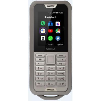 image Nokia 800 Tough - Portable débloqué 4G - (2,4 pouces - 4Go stockage - Double Sim - KaiOS V2.5) Sable