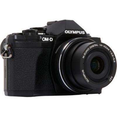 image Olympus OM-D E-M10 Mark III Kit, Appareil Photo Micro 4/3 (16 MP, Stabilisation d'Image 5 Axes, Viseur Électronique) + Objectif M.Zuiko 14-42mm EZ Zoom, Noir