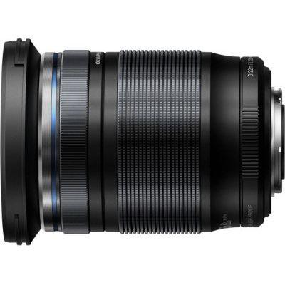 image Olympus M.Zuiko Objectif Digital ED 12-200mm F3.5-6.3, zoom universel, compatible tout appareil Micro 4/3 (modèles Olympus OM-D & PEN, Panasonic G-series), Noir