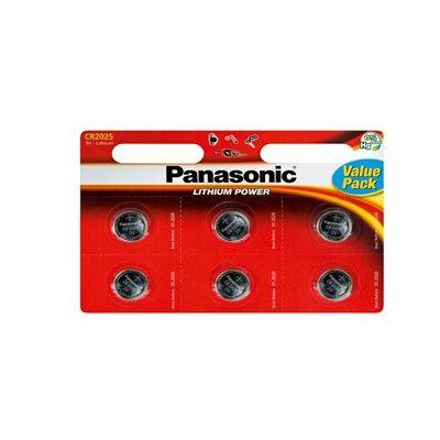 image Panasonic CR2025L Pile Lithium non rechargeable 3 V,6 Pièces