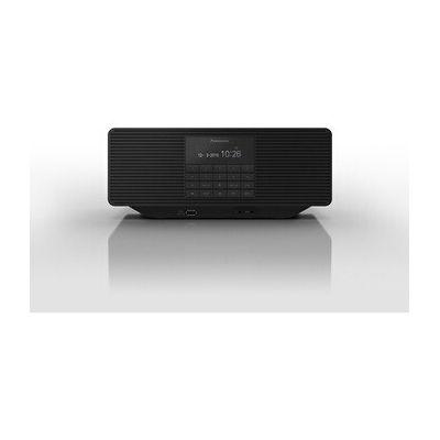 image Panasonic RX-D70BTEG-K Radio numérique avec CD (Dab+, Son stéréo, Bluetooth, FM, réseau et Piles, AUX, Fonction réveil