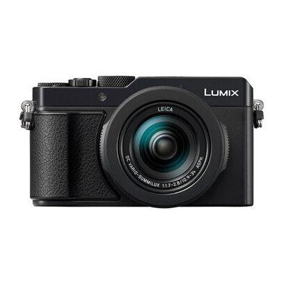 image Panasonic Lumix LX100 II | Appareil Photo Compact Expert (Grand capteur type 4/3 17MP, Zoom LEICA 3x, Ouverture F1.7-2.8, Grand viseur, Ecran tactile, Vidéo 4K, Stabilisation) Noir – Version Française
