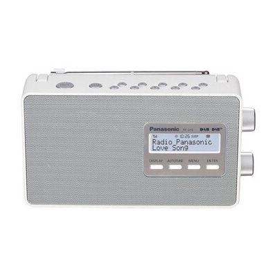image Panasonic RF-D10EG Radio/Radio-réveil Blanc
