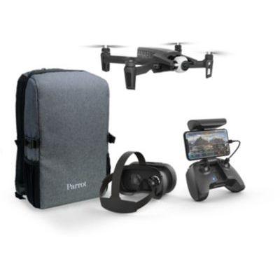 image Parrot Anafi - Pack Drone FPV - Quadricoptère Hyper Léger et Pliable - Lunettes FPV Cockpitglasses 3 & Anafi - Batterie Intelligente (7.6V, Lipo, 2 cellules, 2700 mAh, autonomie: 25 Min) - Gris