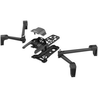 image Parrot - Kit Mécanique pour Drone Anafi - Corps du drone + 2 bras avant + 2 bras arrière + charnière et monture + LED + câble coaxial avant et arrière + vis et outil - Kit Réparation Drone Anafi