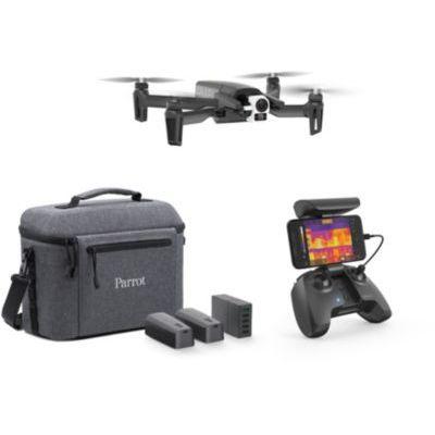 image Parrot - Drone Thermique 4K - Anafi Thermal - 2 Caméras Haute Précision - Caméra Thermique -10°C à +400°C + Caméra 4K HDR - Le Drone Thermique Ultra-Compact pour tous les Professionnels