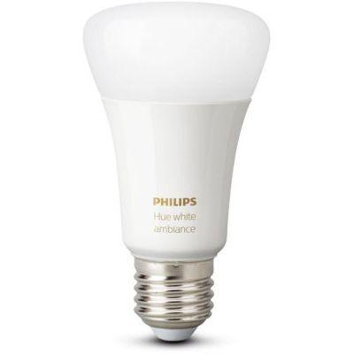 image Philips Hue Ampoule LED Connectée White Ambiance E27 Compatible Bluetooth, Fonctionne avec Alexa