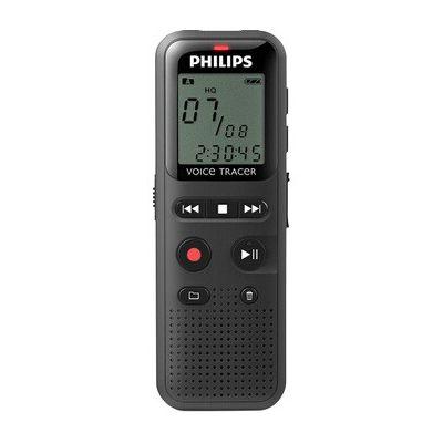 image Philips DVT 1150 Dictaphones Connexion PC, Type de Stockage: Mémoire Interne, Activation Vocale