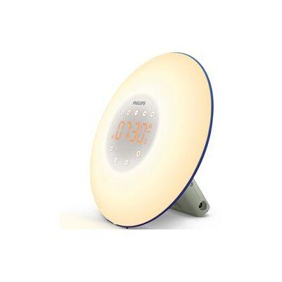 image Philips Eveil Lumière - HF3506/20 - Simulateur d'aube avec lampe LED (10 réglages) et interface tactile - Bleu