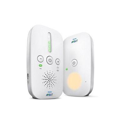 image Philips AVENT - Moniteurs audio, écoute-bébé avec technologie DECT, 120 canaux, 300m, 50m, 300m, blancs