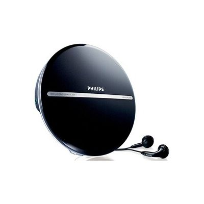 image produit Philips Audio - EXP2546/12 Lecteur CD Portable (Dynamic Bass Boost, MP3-CD, Magic ESP, Lecture 10 heures, Ecran LCD) Noir