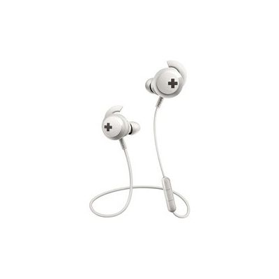 image Philips SHB4305WT Bass+ Casque Bluetooth Intra-auriculaire avec Microphone, Isolation sonore, télécommande, Basse satelle Blanc