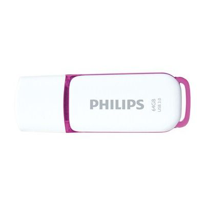 image Philips FM64FD75B/10 64 GB Violet, Blanc