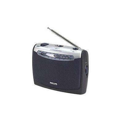 image Philips AE2160 Radio Portable - Bleu et Gris