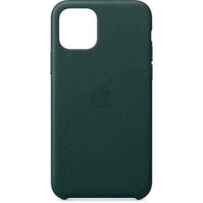image Apple Coque en cuir (pour iPhone 11 Pro) - Vert Forêt