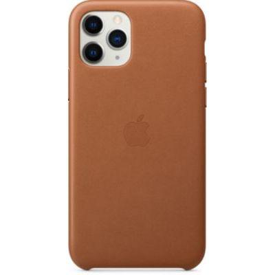image Apple Coque en cuir (pour iPhone 11 Pro) - Havane