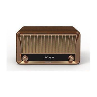 image Philips Webradio DAB+ VS700/10 Bluetooth Webradio (Bluetooth, DAB+, 2 haut-parleur à large bande, ouverture bass-reflex, 20 Watts) marron