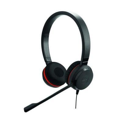 image Jabra Evolve 30 UC Mono Casque - Casque Unified Communications pour VoIP Softphone avec annulation passive du bruit - Jack 3,5 mm - Noir