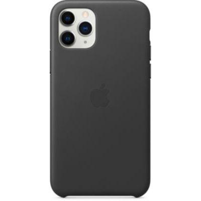 image Apple Coque en cuir (pour iPhone 11 Pro) - Noir