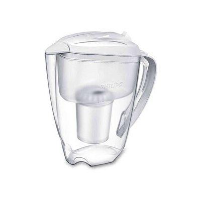 image Philips Carafe Filtrante 1,5 L AWP2900 + 1 Filtre-Microfiltration calcaire, Chlore, Plomb et pesticides, Blanche